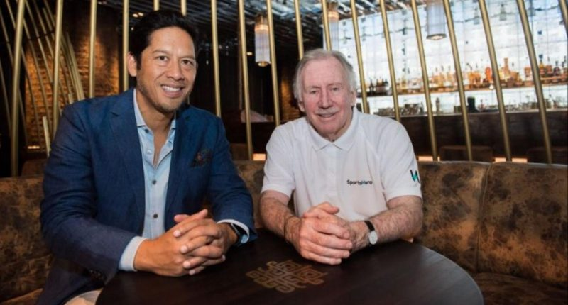 SportsHero (ASX:SHO) - CEO, Tom Lapping (left) & Company Cricket Ambassador, Ian Chappell (right) - The Market Herald