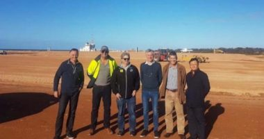 Andromeda Metals (ASX:ADN) - Managing Director, James E Marsh (second right) - The Market Herald
