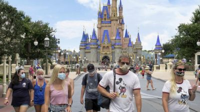 Walt Disney World reopens amid huge COVID-19 spike in Florida