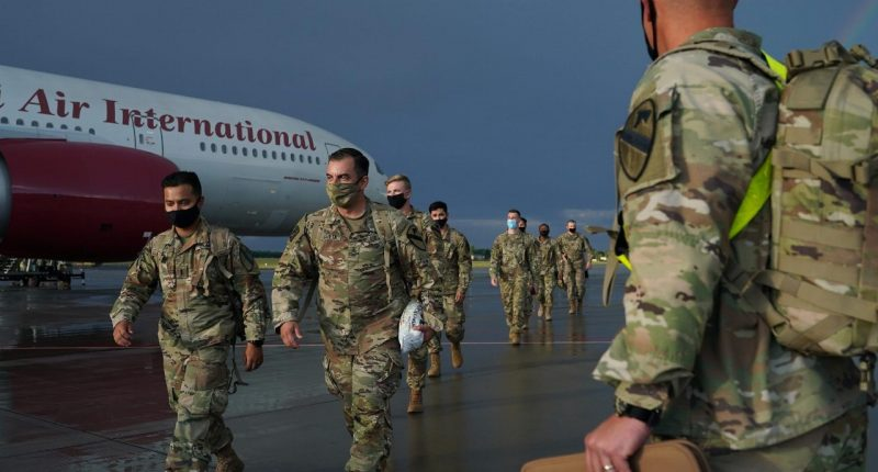 U.S. pushes ahead with plan to withdraw troops from Germany
