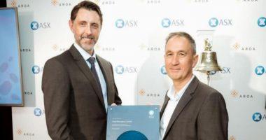 Aroa Resources (ASX:ARX) - Managing Director & CEO, Brian Ward (right) - The Market Herald