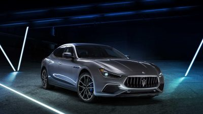 Maserati Goes Electric with Ghibli Hybrid