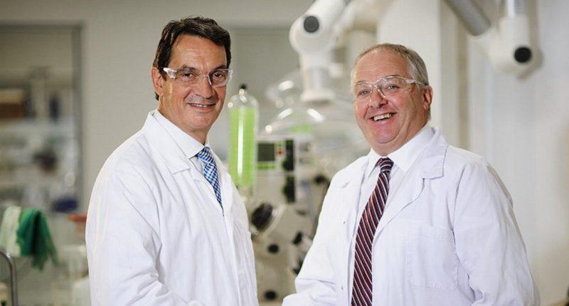 Pharmaxis (ASX:PXS) - CEO, Gary Phillips (left)