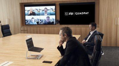 Zip CO (ASx:Z1P) - CEO, Larry Diamond (front)) - The Market Herald