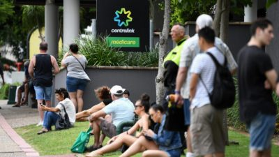 Unemployment rate falls to 6.8pc, with VIC and TAS hardest hit