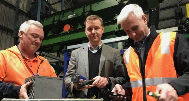 Envirostream- Founders,Andrew Mackenzie (centre) and John Polhill (right) - The Market Herald