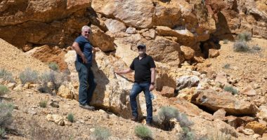 Rex Minerals (ASX:RXM) - CEO, Richard Laufmann (right) - The Market Herald