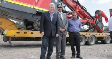 Shree Minerals (ASX:SHH) - Executive Director, Sanjay Loyalka (centre) - The Market Herald