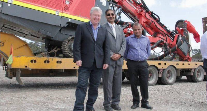Shree Minerals (ASX:SHH) - Executive Director, Sanjay Loyalka (centre) - The Market Herald