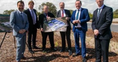 EcoGraf (ASX:EGR) - Managing Director Andrew Spinks (middle) - The Market Herald
