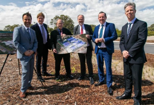 EcoGraf (ASX:EGR) - Managing Director Andrew Spinks (centre left) - The Market Herald