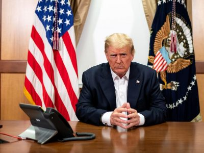 Trump doctors say president has 'no symptoms'