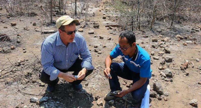 BlackEarth Minerals (ASX:BEM)- Managing Director, Tom Revy (left)