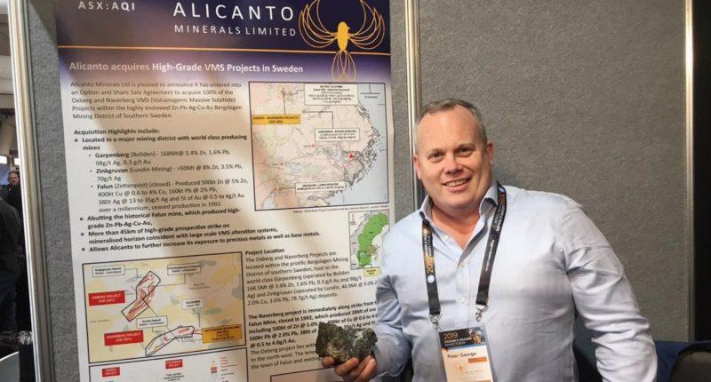 Alicanto Minerals (ASX:AQI) - Managing Director, Peter George