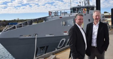 Austal (ASX:ASB) - CEO, Patrick Gregg (left) - The Market Herald