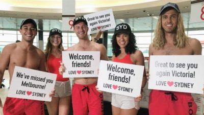Bondi lifeguards greet travellers. - The Market Herald