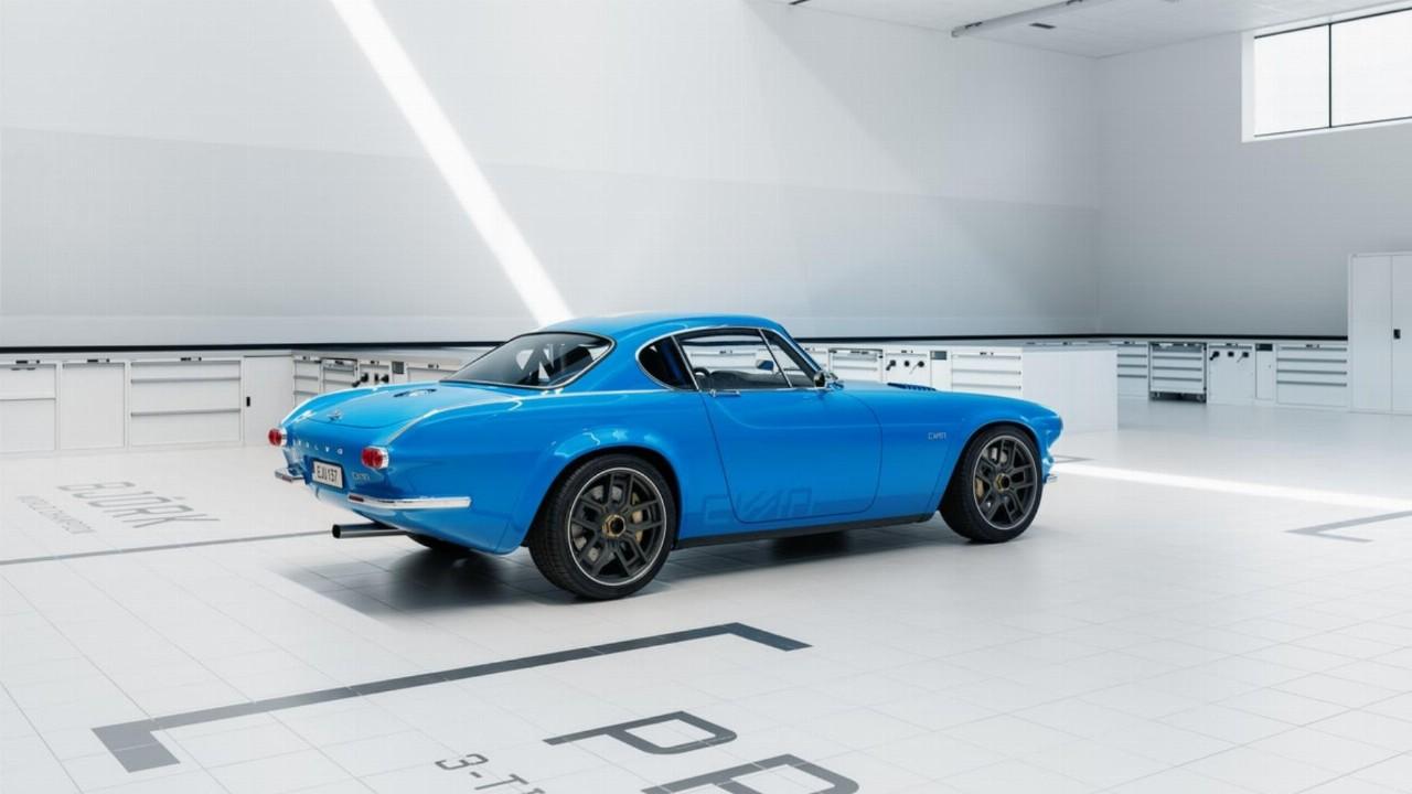 Cyan Racing Restores 55-year-old Volvo to Modern Masterpiece