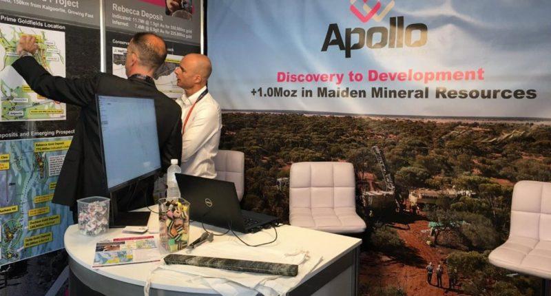 Apollo Consolidated (ASX:AOP) - Managing Director, Nick Castleden (right)