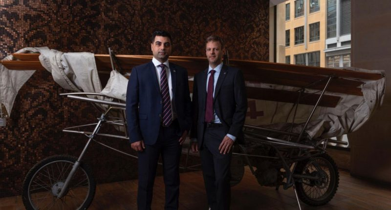 Archer Materials (ASX:AXE)-CEO, Dr Mohammad Choucair (left) - The Market Herald