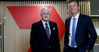 Seven West Media (ASX:SWM) - Chairman, Kerry Stokes (left), and CEO, James Warburton - The Market Herald