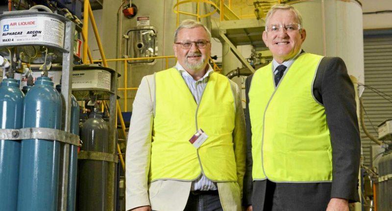 Lithium Australia (ASX:LIT)- Managing Director, Adrian Griffin (left) - The Market Herald