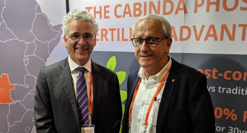 Minbos Resources (ASX:MNB) - CEO, Lindsay Reed (left)