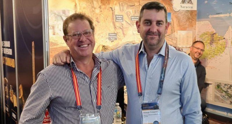 OzAurum Resources (ASX:OZM) - CEO, Andrew Pumphrey (left)