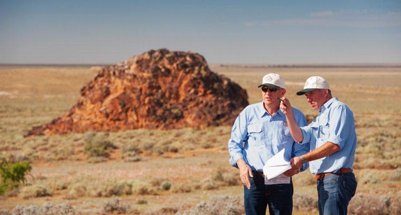 Carpentaria Resources (ASX:CAP) - Managing Director, Quentin Hill (right)