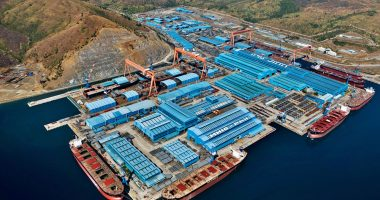 Austal (ASX:ASB) says no movement has been made for Hanjin shipyard