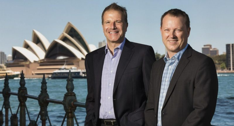 Carbonxt (ASX:CG1) - Managing Director, Warren Murphy (right)