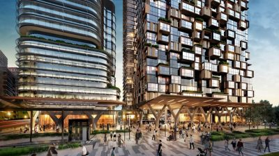 JQZ progresses office tower in North Shore as part of $1.6b project