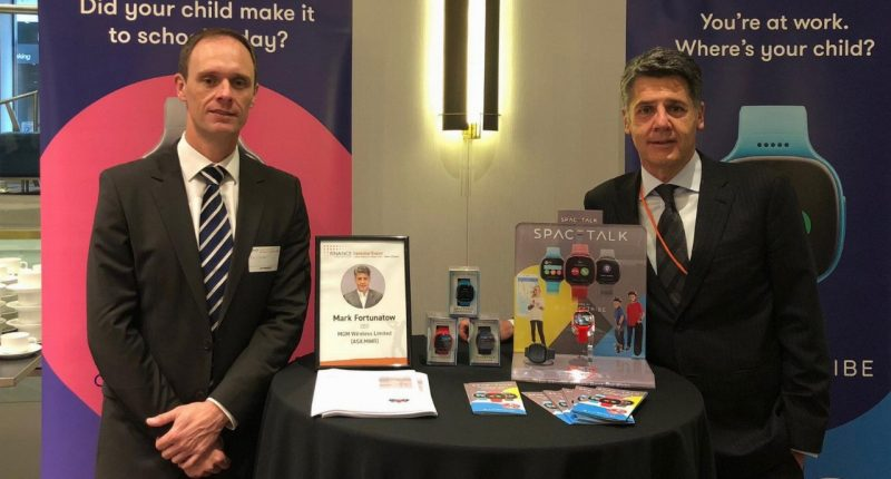 Spacetalk (ASX:SPA) - CEO, Mark Fortunatow (right)
