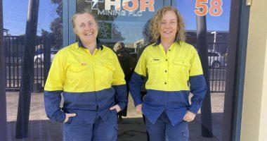 Thor Mining (ASX:THR) - Managing Director, Nicole Galloway Warland (right) - The Market Herald