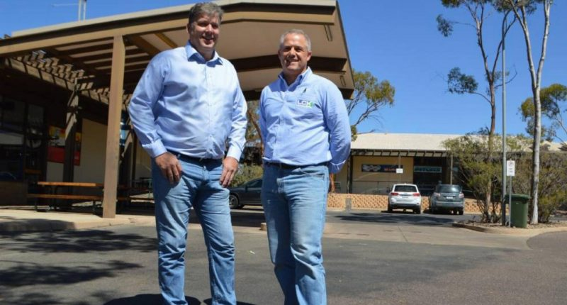 Leigh Creek Energy (ASX:LCK) - Managing Director, Phil Stavely (left)