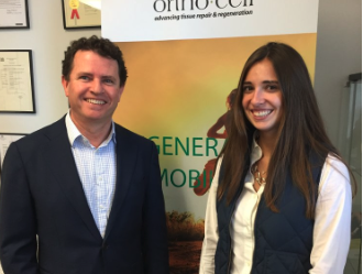 Orthocell (ASX:OCC) - CEO Paul Anderson with intern Margeux Steltz - The Market Herald