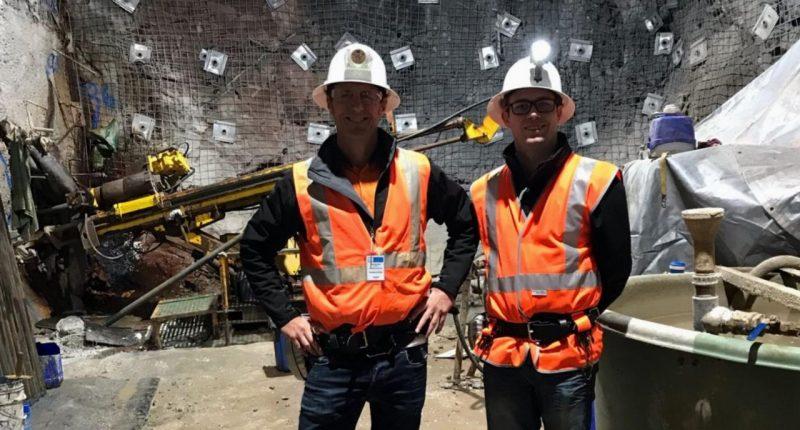Poseidon Nickel (ASX:POS) - Managing Director and CEO, Peter Harold (left)