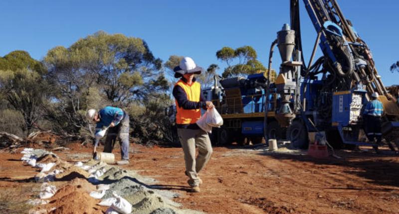 Estrella Resources (ASX:ESR) - At the Carr Boyd Project.