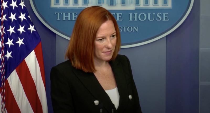 - White House Press Secretary, Jen Psaki