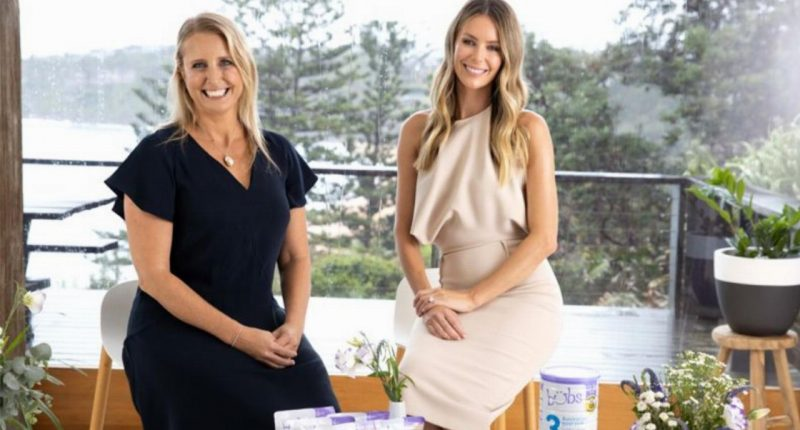 Bubs Australia (ASX:BUB) - Founder & CEO, Kristy Carr (left) and Brand Ambassador, Jennifer Hawkins (right)