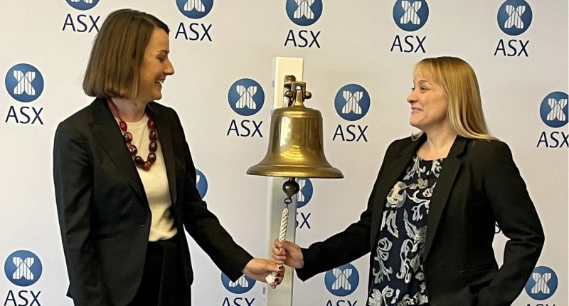 Argenica Therapeutics (ASX:AGN)- CEO, Dr Liz Dallimore (left) and COO,Dr Samantha South (right)