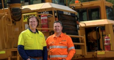 Core Lithium (ASX:CXO) - Managing Director, Stephen Biggins (left) & Executive Director, Ben Lucas (right)