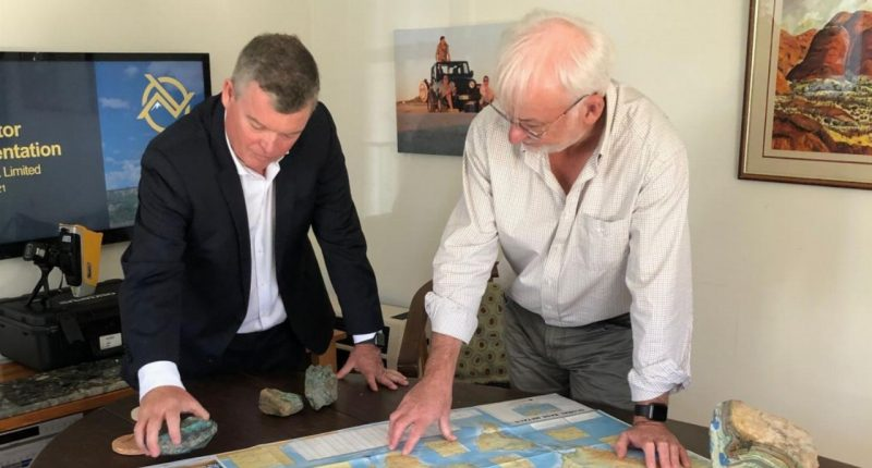 Noronex (ASX:NRX) - Executive Director, James Thompson (left) and Chief Geologist, Bruce Hooper (right)