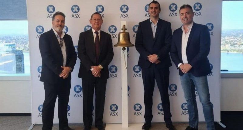 Heavy Minerals (ASX:HVY) - Executive Director and CEO, Nic Matich (second from the right)