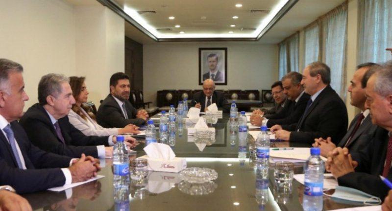 US, Jordan, Egypt and Syria come to Lebanon's aid