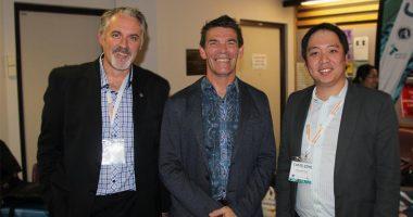 Titomic (ASX:TTT) - Executive Director & Chief Technology Officer, Jeff Lang (centre)