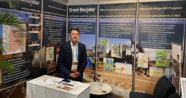 Great Boulder Resources (ASX:GBR) - Managing Director, Andrew Paterson